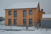Passivhaus im Winter, Königsbrunn